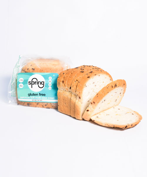 Gluten Free Multiseed Bread - Buy Fresh Bread Online | Sprinng Foods