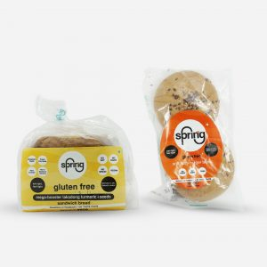 Combo 1 - 1 Bread + 1 Pack Burgar Buns - gluten free products | Sprinng